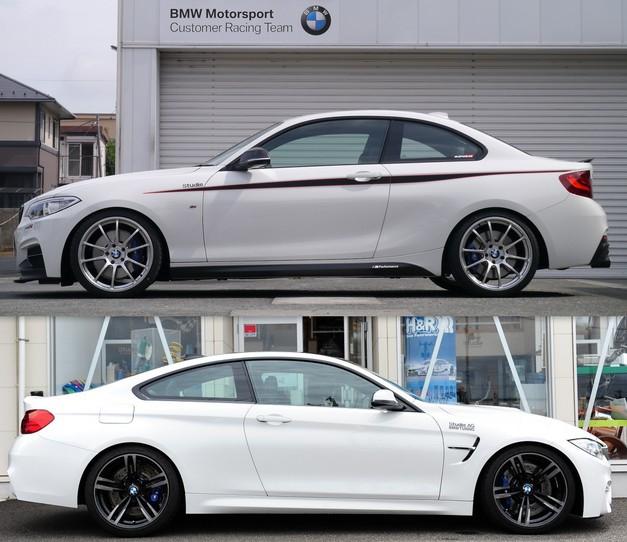 BMW Familie Westen 2014 StudieAG DEMO CAR M235 F82M4.jpg
