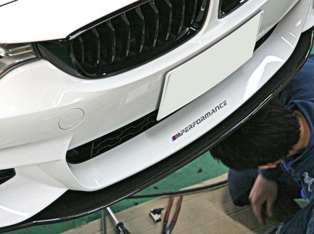 LightWeight F32 フロントカーボンリップ 028.JPG