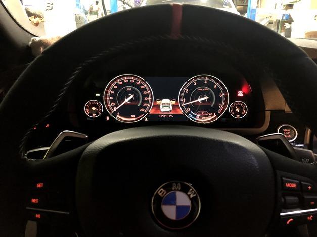 Studie BMW F10 後期Meter 001.JPG