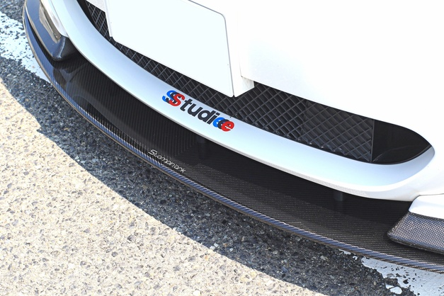 Studie+KOBE- BMW E61 Stompinark Carbon Lip.JPG