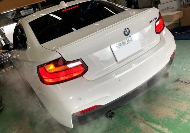 Studie BREX BMW ウインカーLED バックランプLED F22-M235.JPG