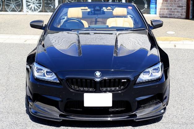 Studie スタディ ハーマン BMW HAMANN CARBON BONNET F12M6 05.JPG