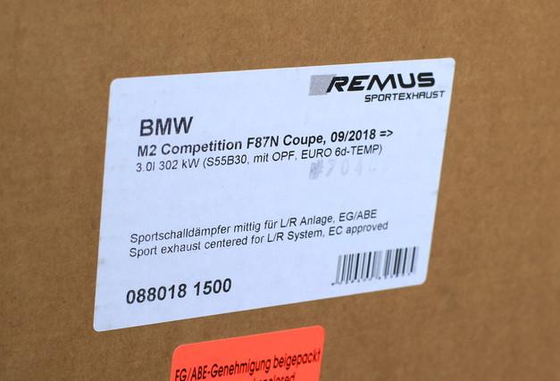 Studie BMW REMUS F87 M2 Competition Muffler 03.JPG