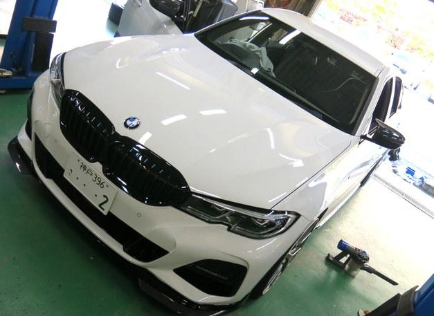 Studie BMW 3シリーズ G20 330i.JPG