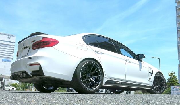 Studie BMW Tuning RAYS G16 Forged Wheel YOKOHAMA Tire ADVANSportV105 02.JPG