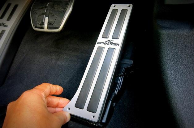 Studie BMW Tuning ACSchnitzer Pedal フットレスト GSeries 1.JPG