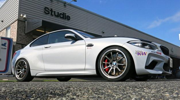 Studie BMW Tuning KW サスペンション イベント 1.JPG